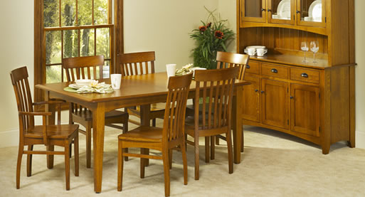 Handcrafted Mission Dining Room Set