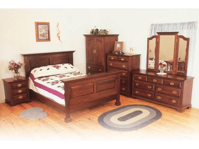 Queen anne bedroom furniture reanimators thomasville for Queen anne style bedroom furniture