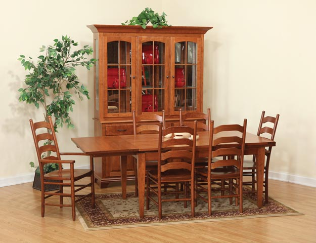 Kitchen and Dining Room Furniture Bartolottas Amish Way  : LeAndrewsSet from www.theamishway.com size 625 x 480 jpeg 74kB